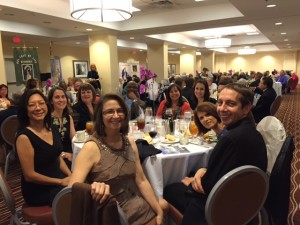 CTK Table at Bishop's Dinner following Mass