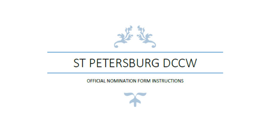 We Need You!!!– Application for the 2019-2021 St. Petersburg Diocesan Council of Catholic Women Officers