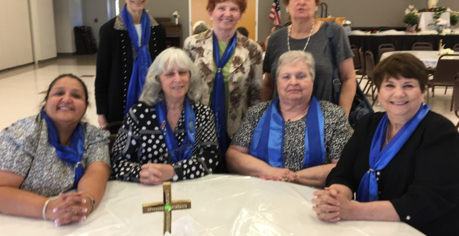 SPDCCW Board Members attended Past Diocesan Council President Claire Schroeder Funeral.
